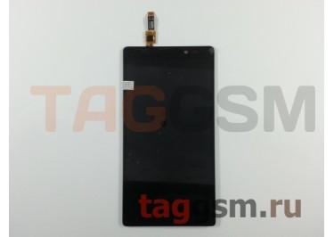 Дисплей для Lenovo K910 + тачскрин (черный)