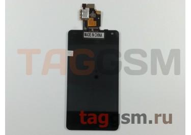 Дисплей для LG E975 Optimus G + тачскрин (черный)