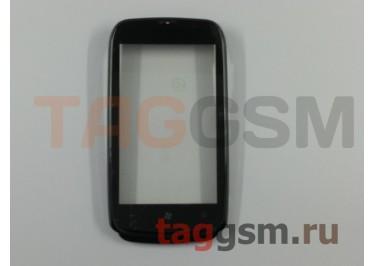 Тачскрин для Nokia 610 (черный) в рамке