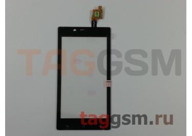 Тачскрин для Sony Xperia J (ST26i) (черный), ориг