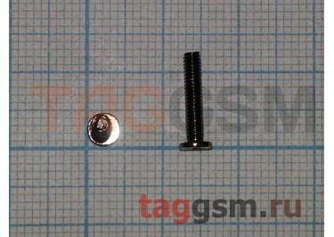 Винт для ноутбука 2,5х12-4,2 с плоской цилиндрической головкой (комплект 10шт)