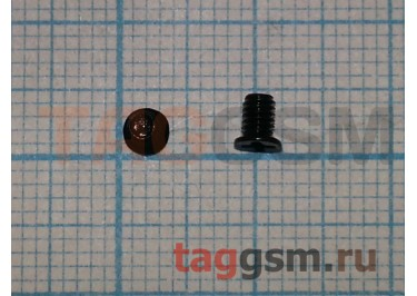 Винт для ноутбука 2,5х4,0-3,5 с потайной головкой (комплект 10шт)