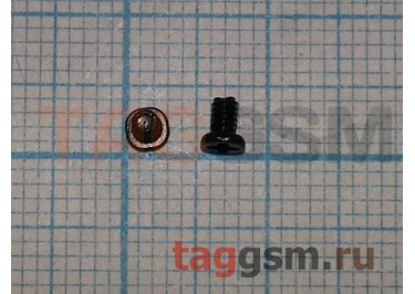 Винт для ноутбука 2,0х3,0-3,0 с плоской цилиндрической головкой (комплект 10шт)