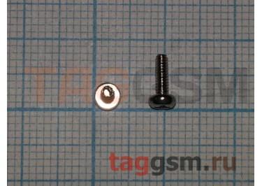 Винт для ноутбука 2,0х6,0-4,0 с цилиндрической головкой (комплект 10шт)