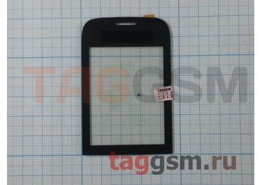 Тачскрин для Nokia 202 (Asha) (черный), ориг