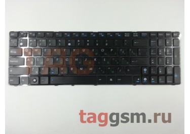 Клавиатура для ноутбука Asus N53 / N51 / N52 / N50 / N60 / N61 / N70 / N71 / N73 / K52 / K53 / F50 / F70 / G51 / G53 / G60 / G72 / G73 / A52 / N90 / P50 / P52 / P53 / U50 / UL50 / UX50 / X52 / X61 / F90 в рамке (черный)