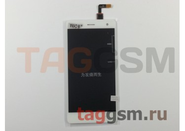 Дисплей для Xiaomi Mi4 + тачскрин (белый)