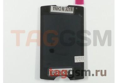 Дисплей для Sony Ericsson Xperia SK17i mini pro всборе (черный)