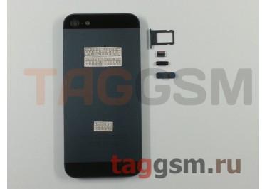Задняя крышка для iPhone 5 (черный), ориг