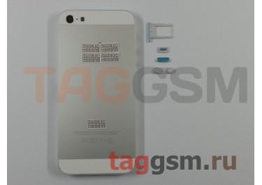 Задняя крышка для iPhone 5 (белый) AAA