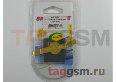 АКБ для Nokia BP-6M 3250 / 6151 / 6233 / 6280 / 6288 / 9300 / 9300i / N73 / N93 SPRINTLINE
