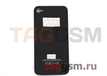 Задняя крышка для iPhone 4S (черный), ААА