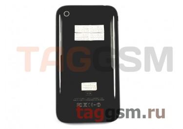 Задняя крышка для iPhone 3GS 16GB в сборе с хром.рамкой (черный)
