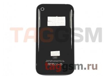 Задняя крышка для iPhone 3GS 32GB в сборе с хром.рамкой (черный)