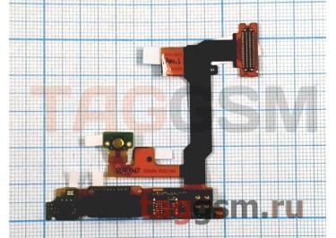 Шлейф для Sony Ericsson U1 (с компонентами) для камеры + динамик