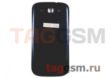 Задняя крышка для Samsung i9300 (синий)