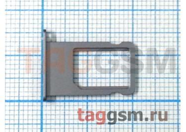 Держатель сим для iPhone 6 Plus (серый)