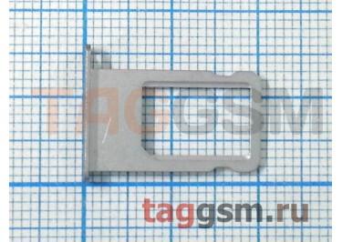 Держатель сим для iPhone 6 Plus (серебро)