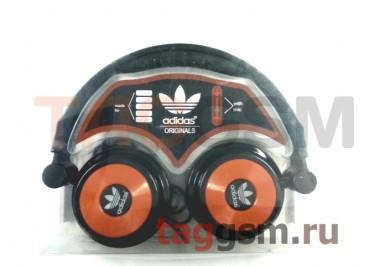 Гарнитура Adidas AD-113 полноразмерная черно-коричневая