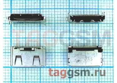 Разъем зарядки для Samsung E210 / C450 / D880 / F210 / F330 / J200 / L600 / M600 / M610 / B100 / G800 / E2550, ОРИГ100%