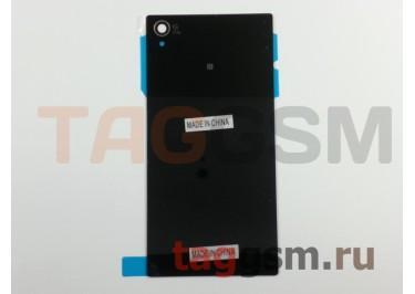 Задняя крышка для Sony Xperia Z1 (C6903) (черный)