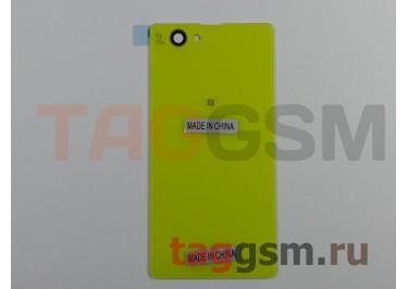 Задняя крышка для Sony Xperia Z1 compact (D5503) (желтый)