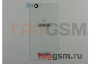 Задняя крышка для Sony Xperia Z1 compact (D5503) (белый)