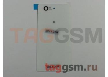Задняя крышка для Sony Xperia Z3 compact (D5803 / D5833) (белый)