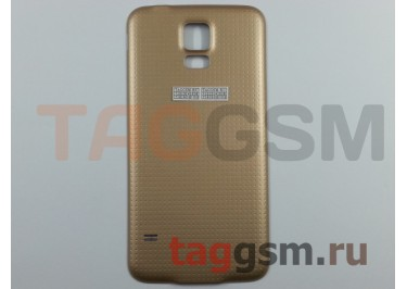 Задняя крышка для Samsung G900F Galaxy S5 (золото)