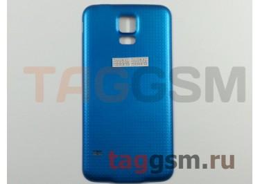 Задняя крышка для Samsung G900F Galaxy S5 (синий)