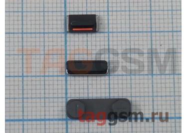 Кнопка (толкатель) для iPhone 5S (mute, on / off, volume) (серый)