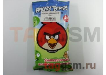 Салфетки влажные Angry Birds №20 универсальные 20шт.