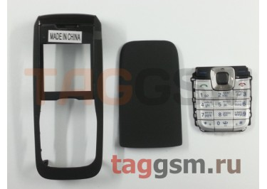Корпус Nokia 2610 без средней части + клавиатура (черный)