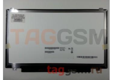 "13.3"" 1366x768 SLIM Глянцевый 30pin (B133XTN01.2) для Ultrabook Acer S5, крепление верх / низ,  разъем справа"