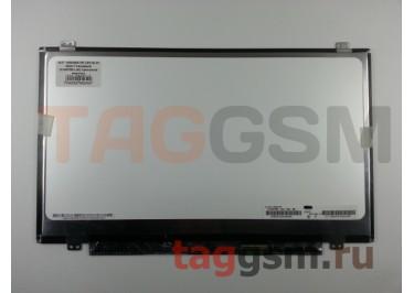 "14.0"" 1600x900 SLIM Матовый 40pin (N140FGE-LA2) крепление верх / низ,  разъем справа"