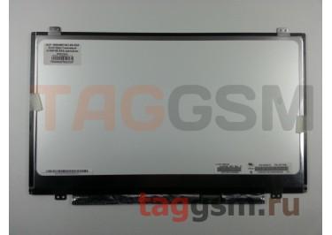 "14.0"" 1600x900 SLIM Матовый 30pin EDP (N140FGE-EA2) крепление верх / низ, разъем справа"