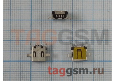 Разъем зарядки для HTC BlackBerry 9000 (mini usb)