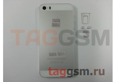 Задняя крышка для iPhone 5S (серебро) A