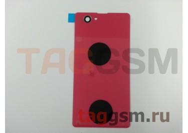 Задняя крышка для Sony Xperia Z1 compact (D5503) (розовый)