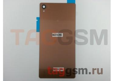 Задняя крышка для Sony Xperia Z3 (D6603 / D6633) (бронза)