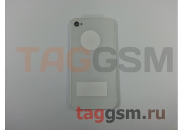 Задняя крышка для iPhone 4 (белый), ААА