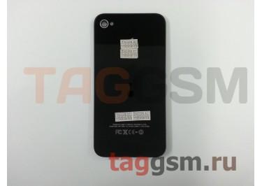 Задняя крышка для iPhone 4 (черный), ААА
