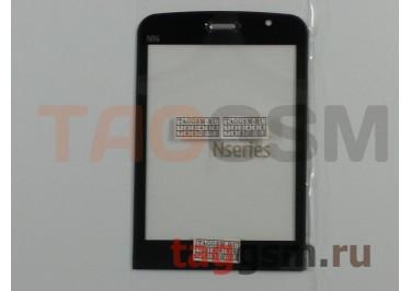 Стекло корпуса для Nokia N96 (черный) ориг