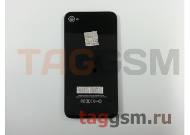 Задняя крышка для iPhone 4 (черный), AA