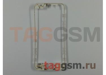 Рамка дисплея для iPhone 5 (белый) + клей