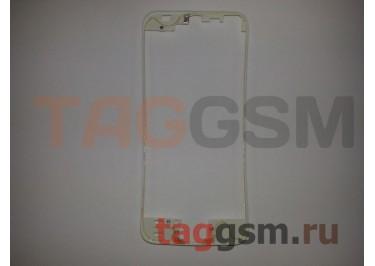 Рамка дисплея для iPhone 5S / SE (белый) + клей