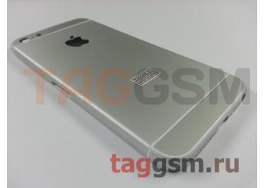 Задняя крышка для iPhone 5 (белый) (дизайн iPhone 6)