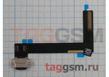 Шлейф для iPad Air 2 + разъем зарядки (черный)