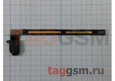 Шлейф для iPad Air 2 + разъем гарнитуры (черный)