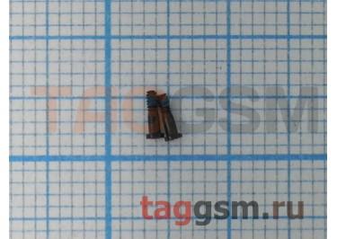 Винты для iPhone 5S нижние (2шт) (черные)
